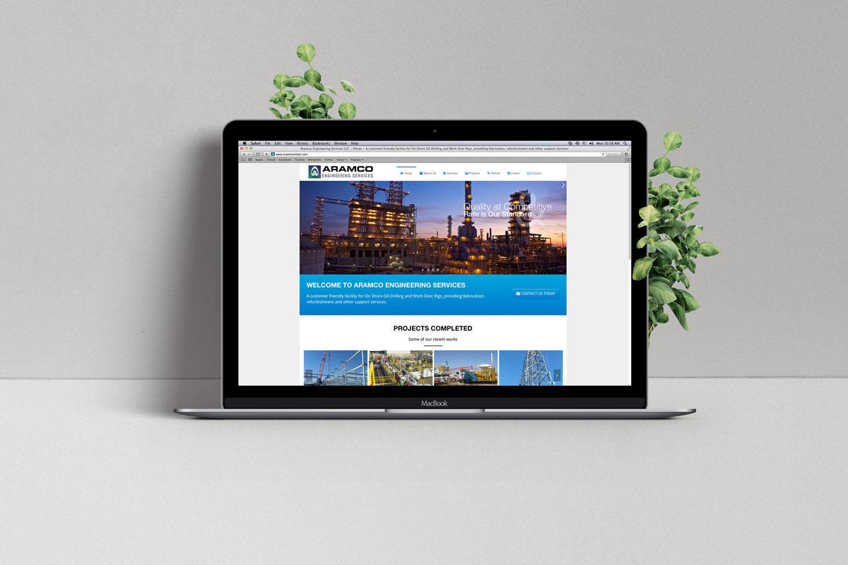 web designing oman