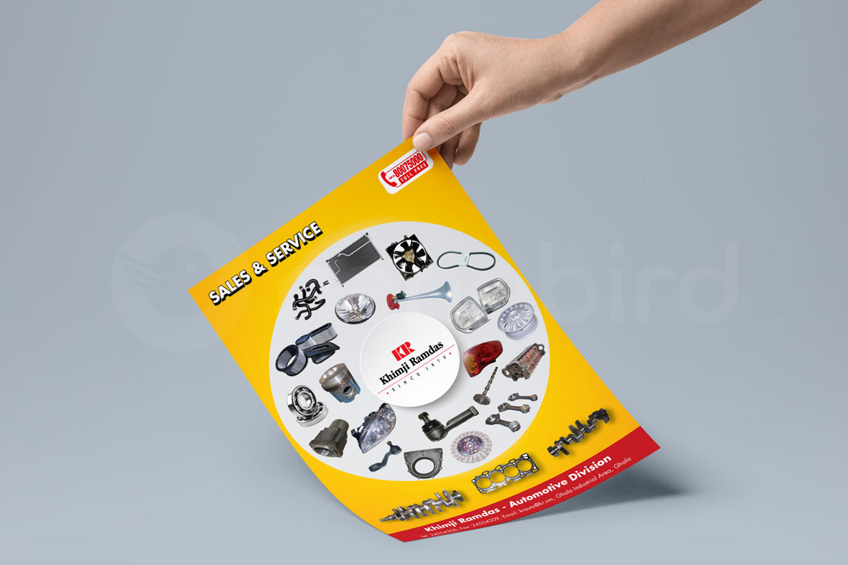 brochure designing oman