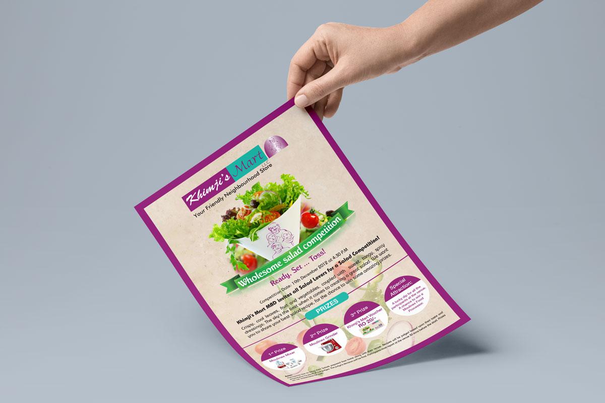 poster flyer designing muscat